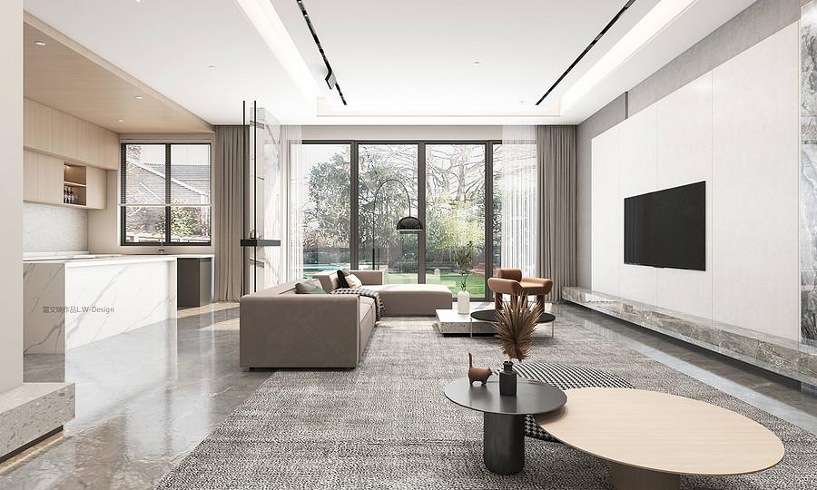 客厅装修效果图-半包和全包的装修有什么区别