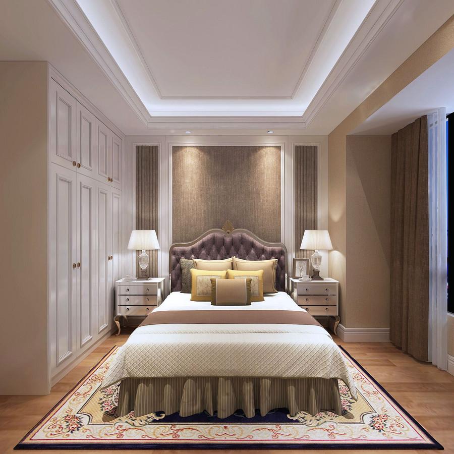 卧室装修效果图-顺德大良的装修公司