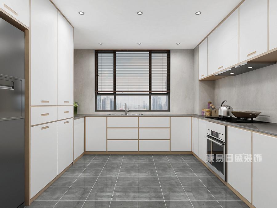 厨房装修效果图-佛山旧房翻新装修