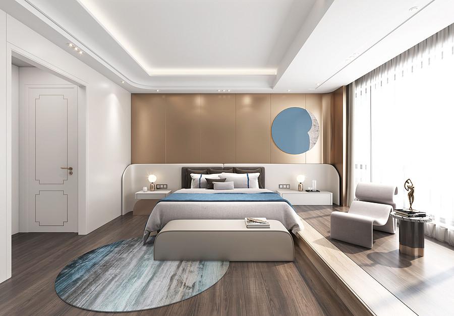 卧室装修效果图-佛山室内装修公司