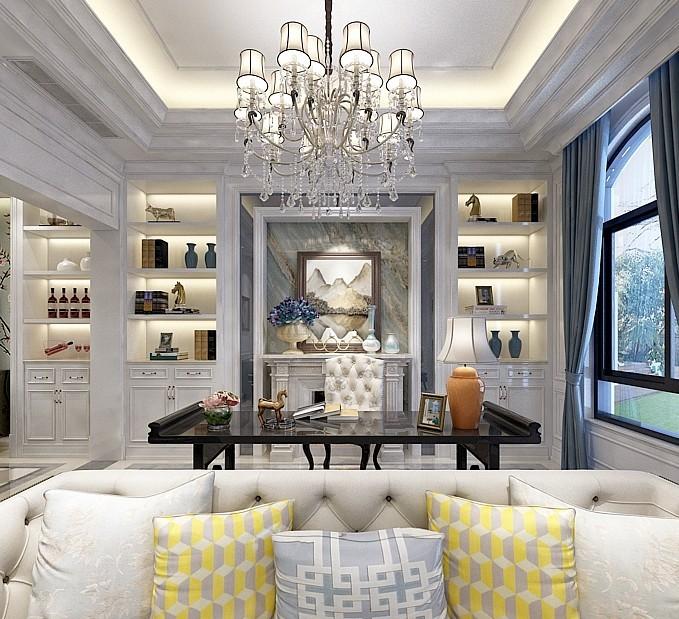 客厅装修效果图-佛山装饰公司