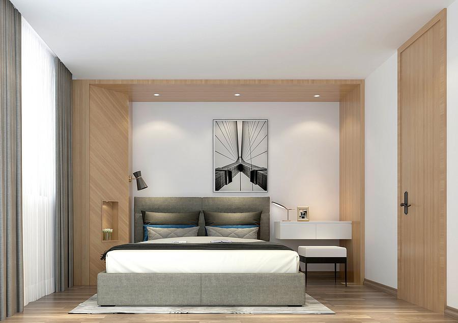 卧室装修效果图-佛山装修