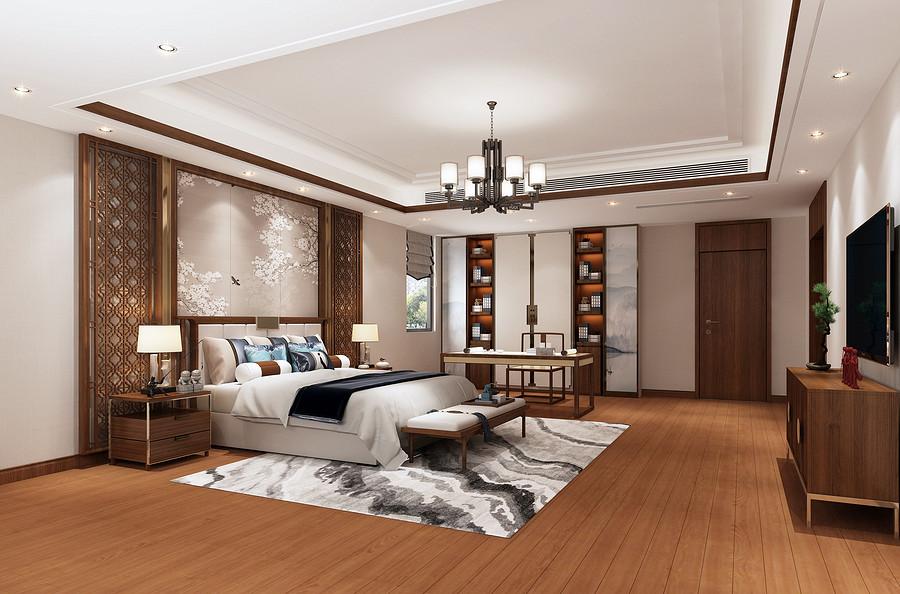 卧室装修效果图-佛山家装设计哪家装修公司好?