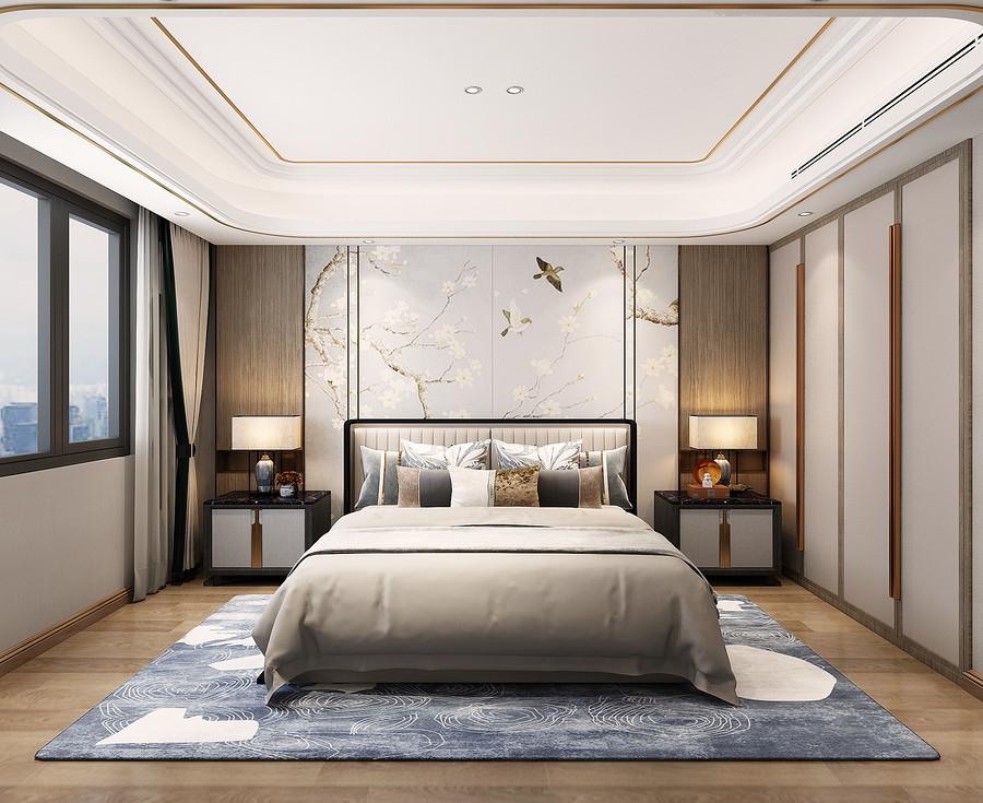 卧室装修效果图-佛山别墅设计