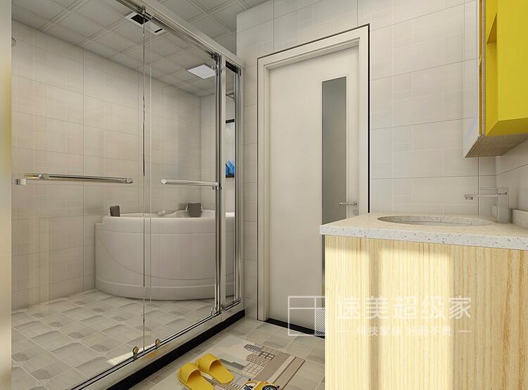 南京小卫生间装修注意三细节,颜值与实用性并存!