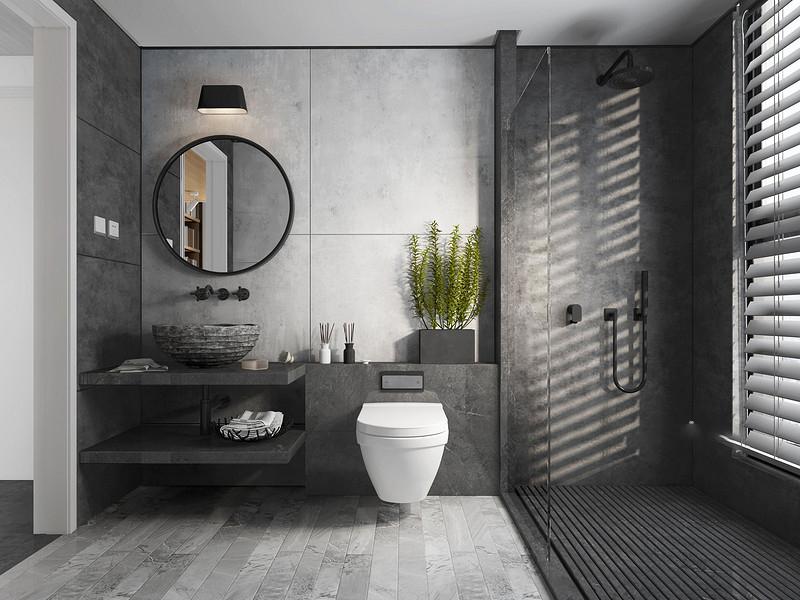 卫生间装修通风设计