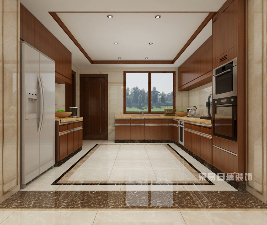 厨房装修效果图-佛山室内装修公司