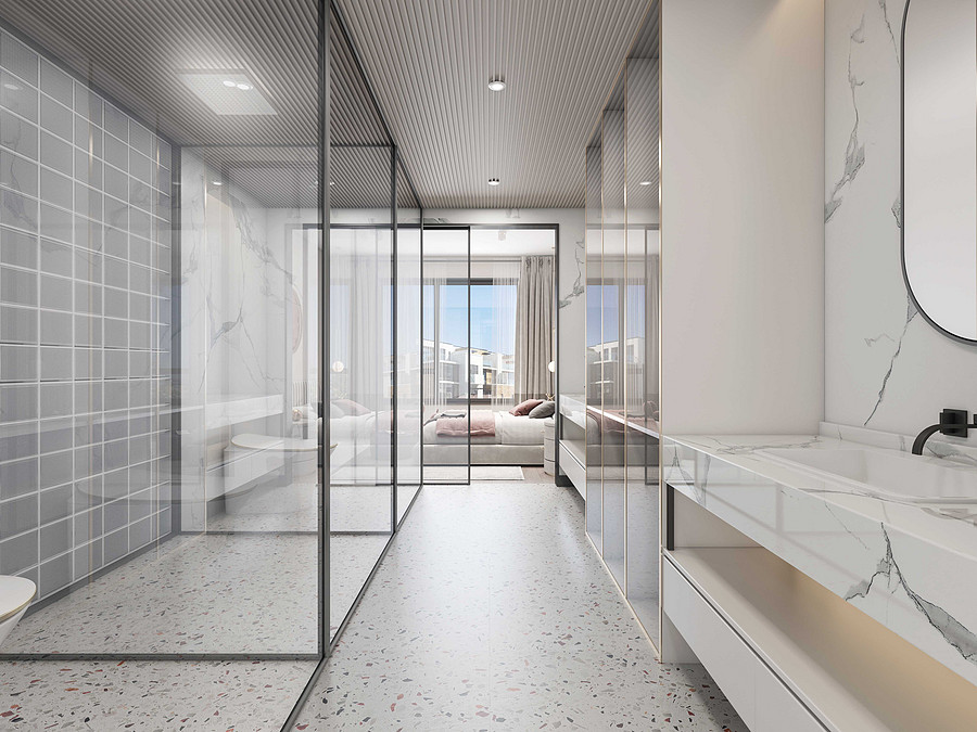 佛山卫生间装修后的清洁有什么技巧?-卫生间装修效果图