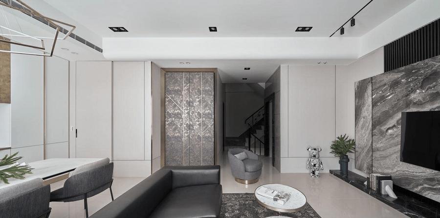 新中式風獨有的冷暖并存充滿細節的大器輕奢宅
