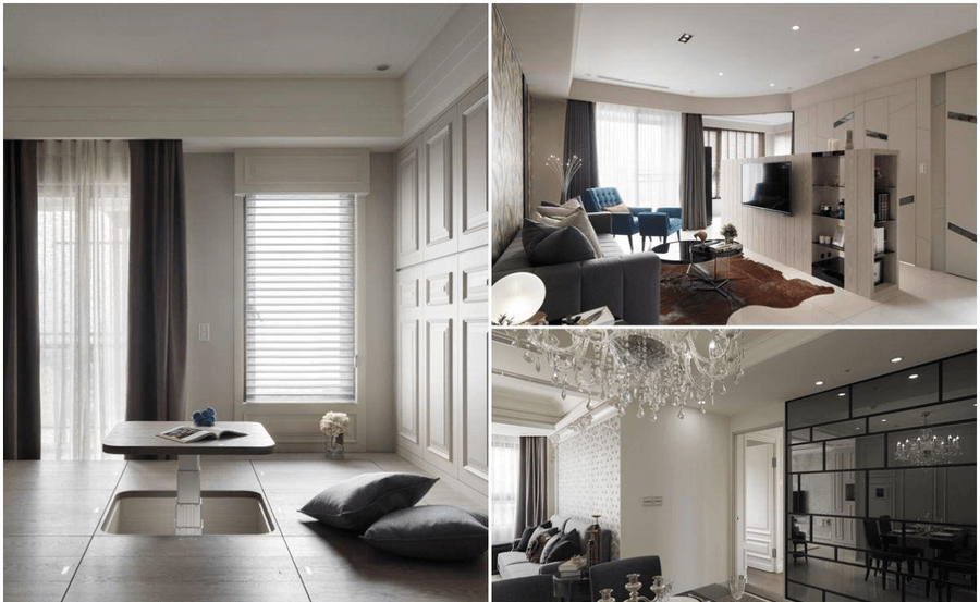 北京室內裝修小戶型也能擁有豪華生活體驗的6種設計手法