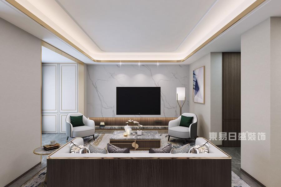 客厅装修效果图-佛山室内装修公司