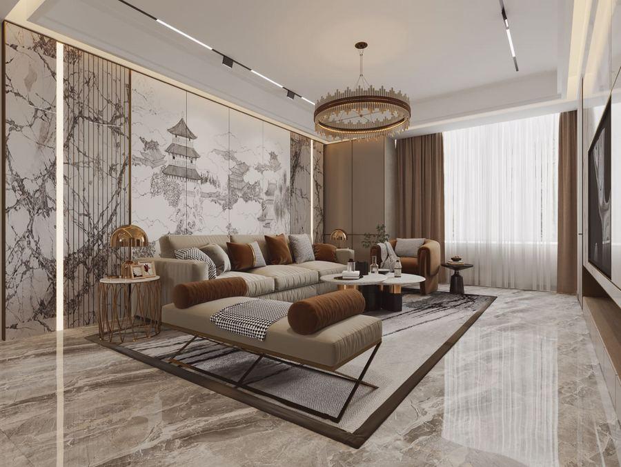 北京两房一厅装修