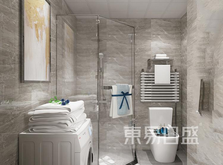 鲁能星城-现代轻奢-卫生间装修效果图