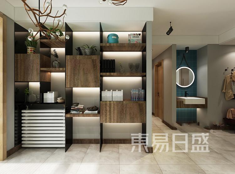 鲁能星城-现代轻奢-客厅装修效果图