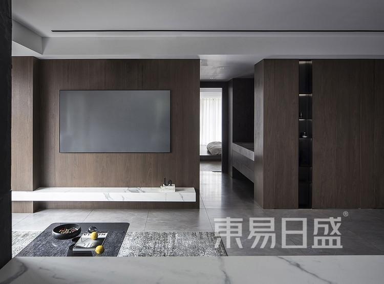 上河宸章-美式风-客厅
