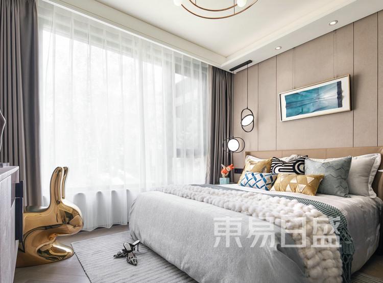 上河宸章-北欧风-卧室