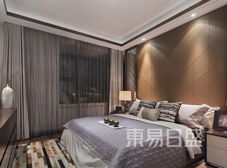 金辉中央名著-现代简约格-卧室装修效果图