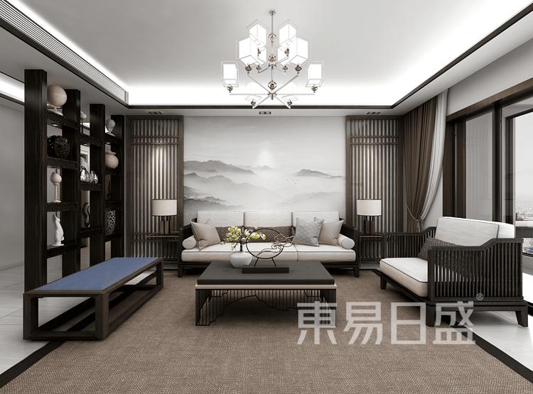 新中式客厅