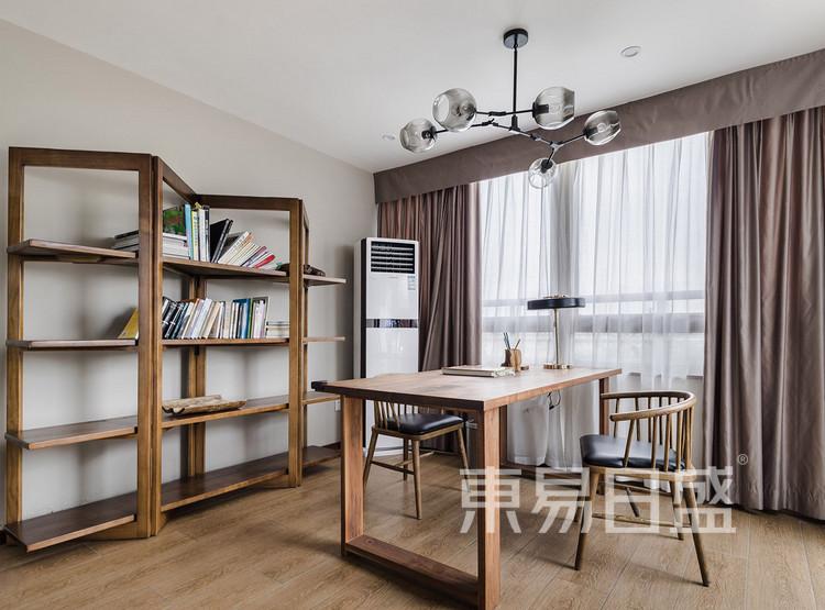 金辉中央名著-北欧风格-书房装修效果图
