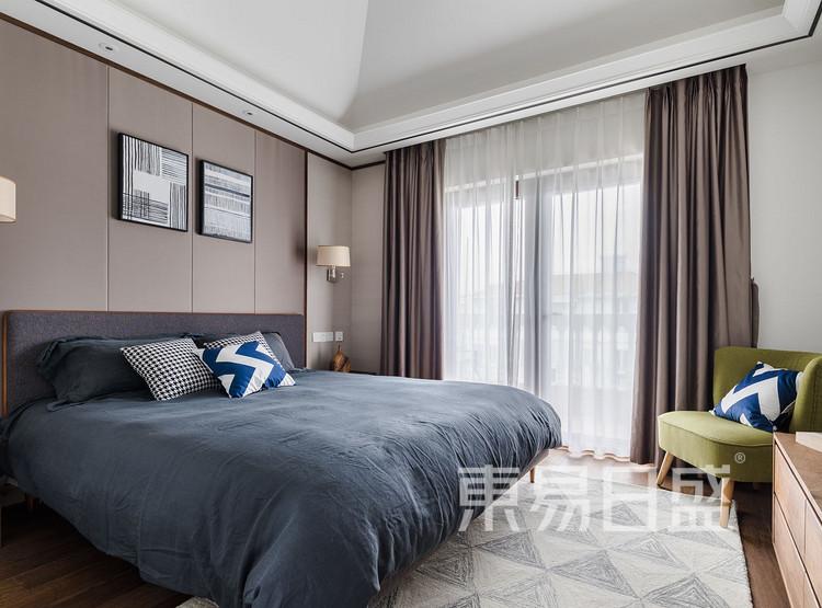 金辉中央名著-北欧风格-卧室装修效果图