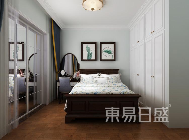 青岛装修公司-现代简约设计案例-卧室装修效果图
