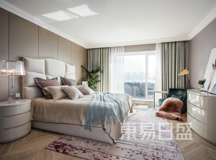 君胜熙珑山-现代简约-卧室效果图