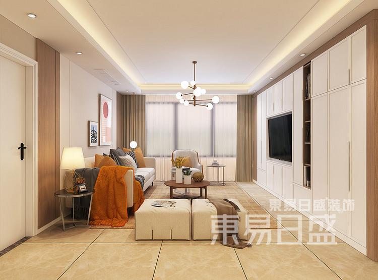 中洲崇安府现代简约——客厅
