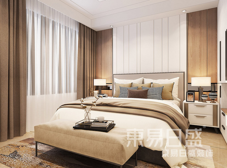 中洲崇安府现代简约——卧室