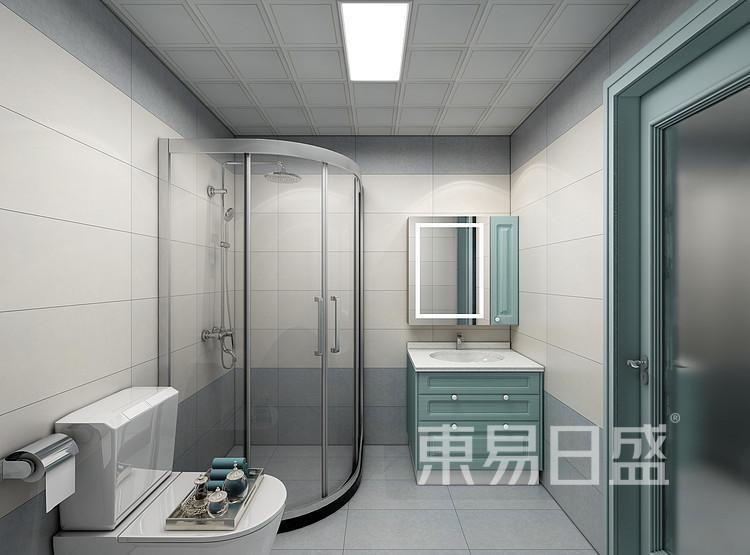 现代轻奢卫生间装修效果图