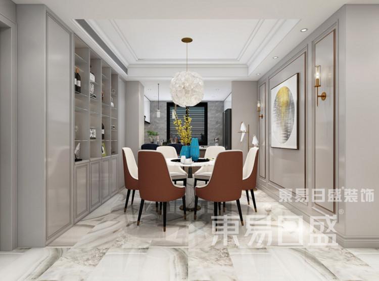 中洲崇安府4室2厅美式风格—餐厅