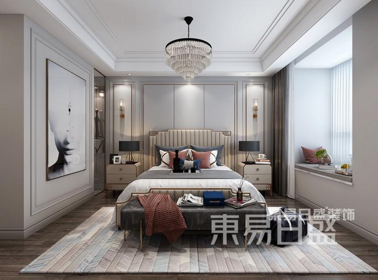 中洲崇安府4室2厅美式风格—卧室