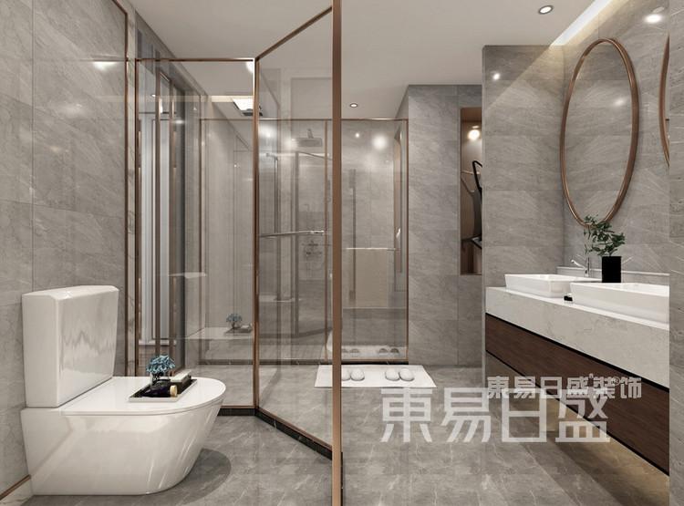 中洲崇安府4室2厅美式风格—卫生间