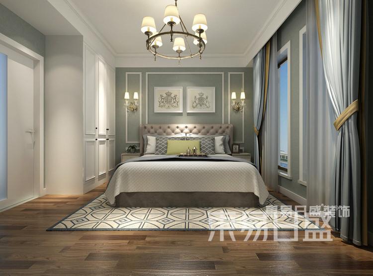 保利融侨时光印象4室2厅简美混搭——卧室