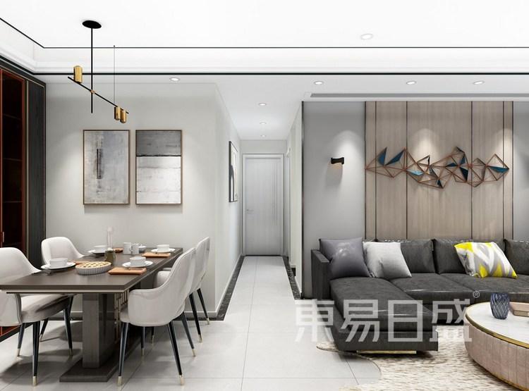 碧桂园海昌天澜客餐厅装修效果图
