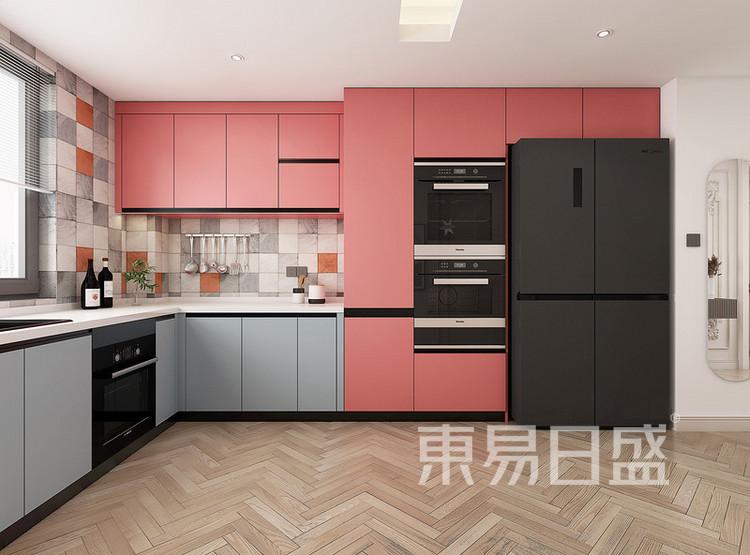 中海寰宇天下法式轻奢风格装修效果图——厨房