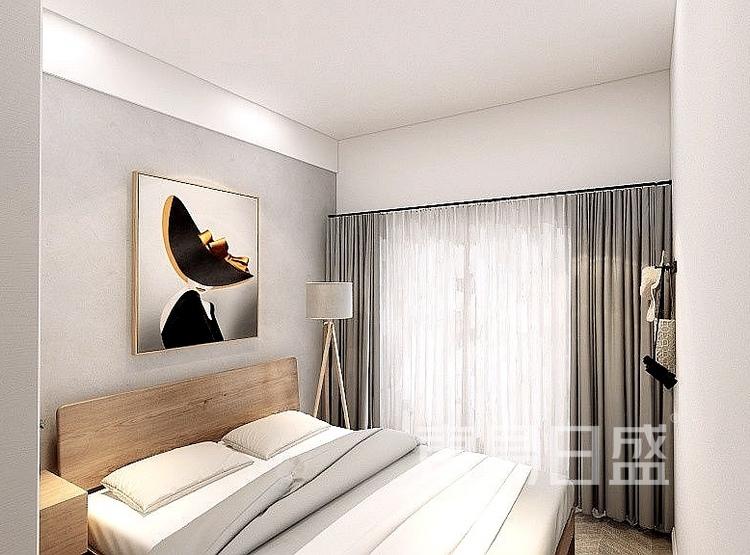 39平米现代风卧室装修设计