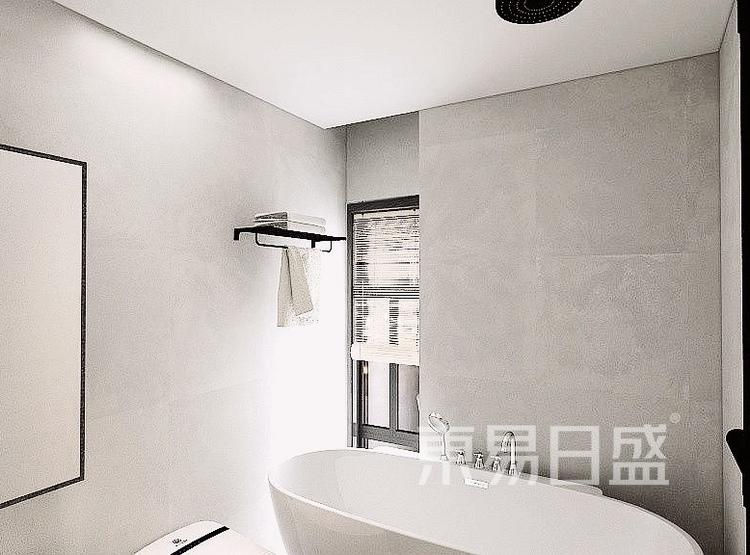 39平米现代风卫生间装修设计