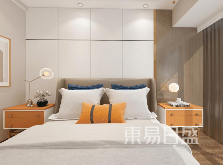 南山华府国际-新中式卧室装修效果图