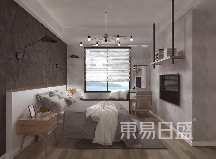龙湖·景粼玖序-欧式风格-卧室装修设计案例