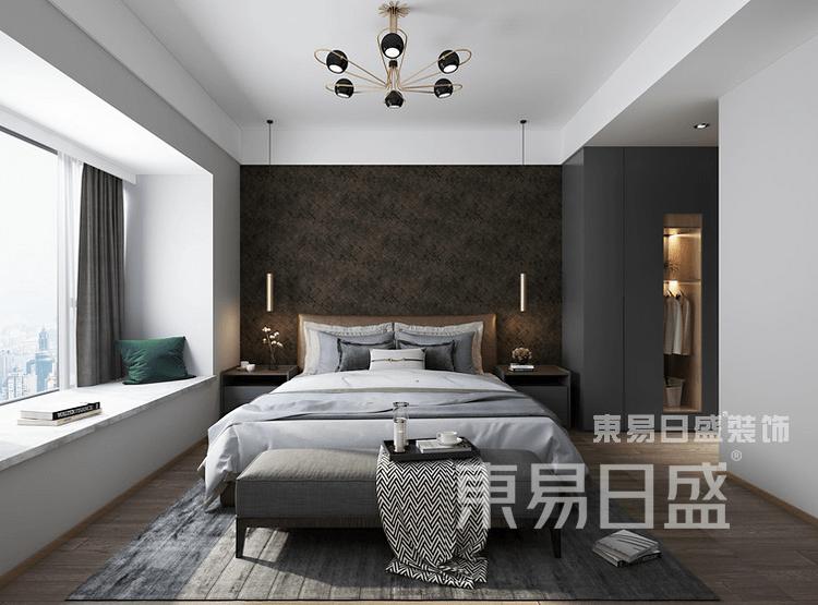 现代简约轻工业-卧室装修效果图