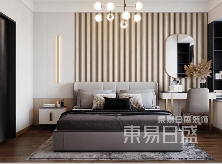 现代简约风格-卧室装修效果图