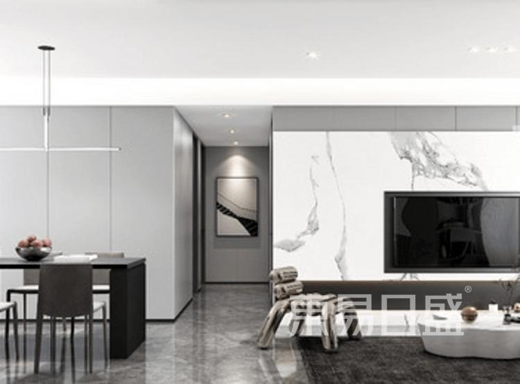 现代简约-客厅装修效果图