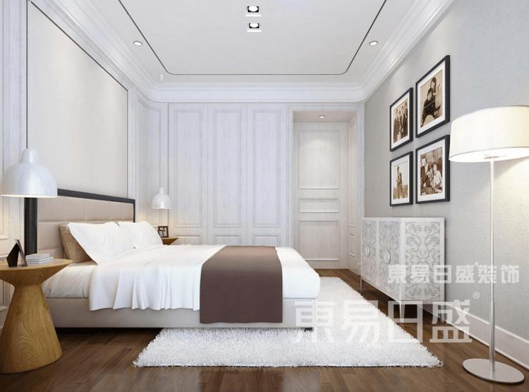 简欧风格-卧室装修效果图