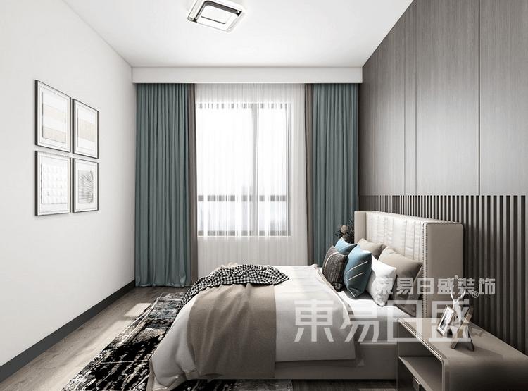 现代轻奢-卧室装修效果图
