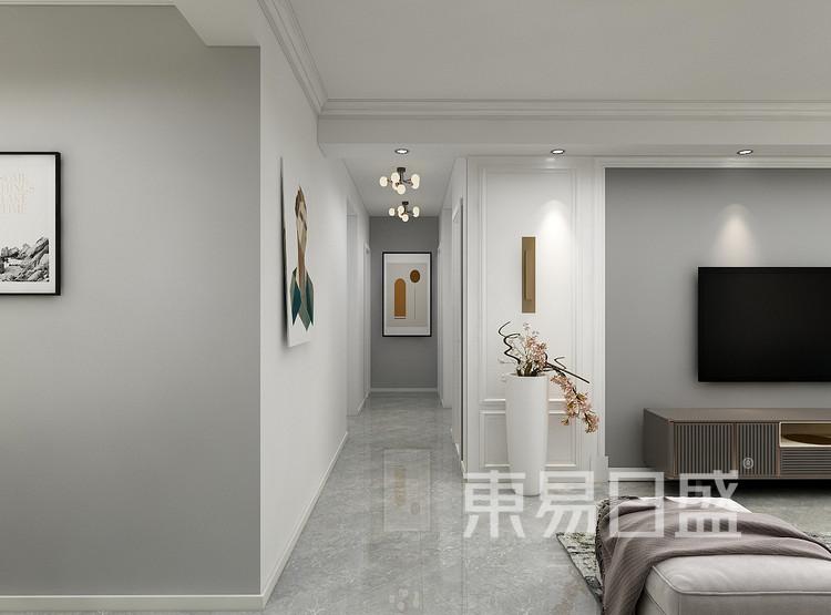 混搭风格门厅走廊装修设计