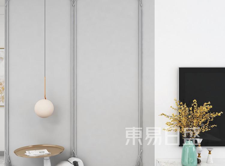 法式混搭风格客厅细节图装修设计