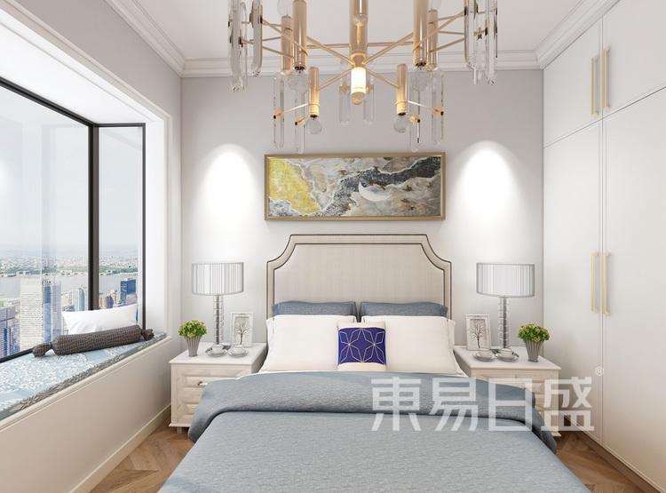 东湖城81平米卧室装修效果图