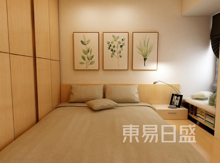 东湖城94平米卧室装修效果图