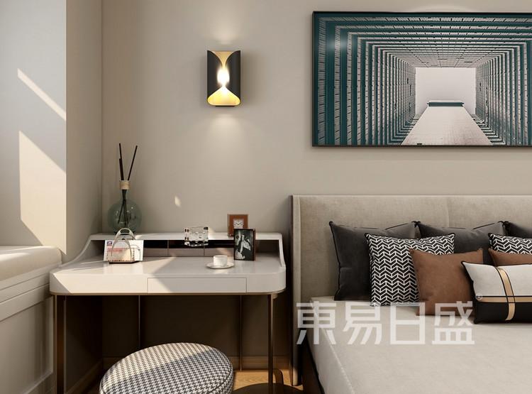 中建大公馆98平米现代风格卧室装修效果图
