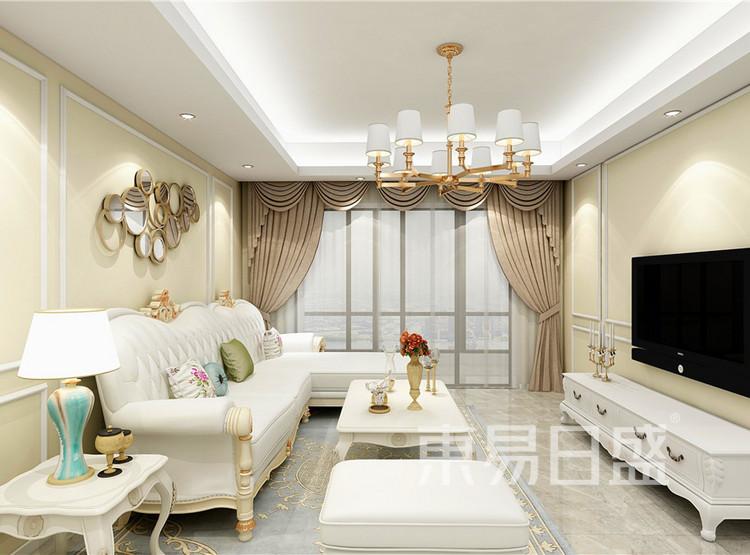 美式风格——客厅